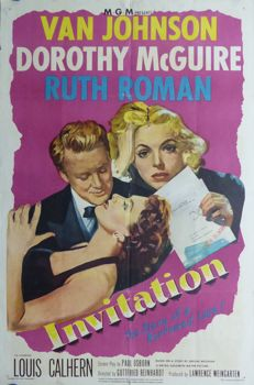 Anonymous - Invitation (Van Johnson, Dorothy McGuire) - year 1951