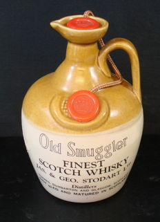 Old Smuggler Finest Scotch Whisky-Dumbarton & Glascow - 1979