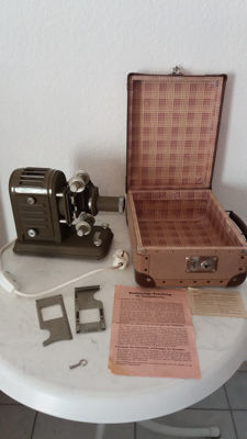 Rare. Kosmos teaching material small projector approx. 1950s lens Noristar