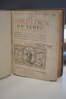 Le Chrestien du Temps in four parts - 1672