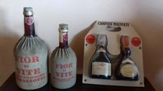 3 Grappa & Brandy: 2x Fior Di Vite + Carpene Malvolti Brandy & Grappa