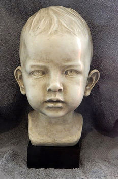Boy's head by Jan Verdonk - Gebr van Paridon