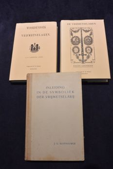 Lot of 3 very special books about Freemasonry