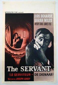 Anonymous - The servant / de dienaar - le serviteur  (Dirk Bogarde) -  1975