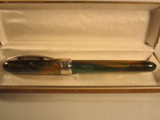 Visconti Van Gogh in fine multicolour pictorial resin - roller ball - large size - perfect condition