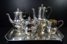 Christofle France - Orfèvrerie Gallia -  servies - Frankrijk - Ca 1908 tot 1929