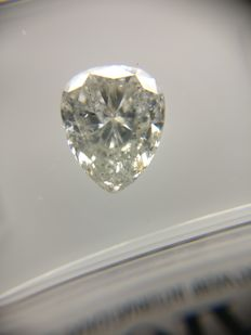 1.10 ct Pear cut diamond G SI3