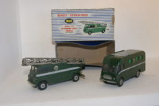 Dinky Supertoys - Scale 1/48 - B.B.C. Extending Mast Vehicle no.969 and B.B.C. TV Mobile Control Room - no.967