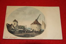 Lot 100x postcards + 1 double Holland Netherlands Folk topics Trachten Tradition and windmills and rppc