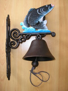 Jumping Fish: Beautiful cast iron bell