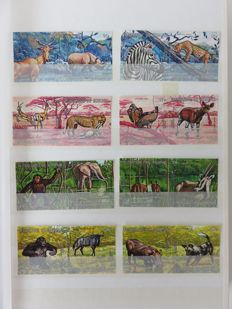 Thematic, animals - collection of world stamps
