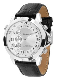 Calvaneo 1583 Refugio Platinum Black Russian Diamond