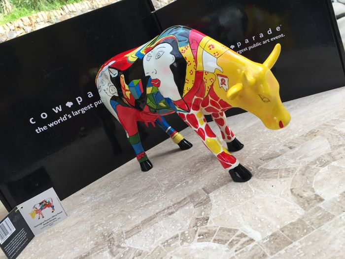 Cowparade - Hommage to Picowso's African Period