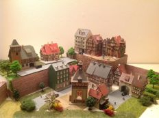 Vollmer/Kibri/Faller N - small town with accessories