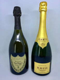 2006 Dom Perignon & Krug 163Eme Edition - 2 bottles (75cl) total