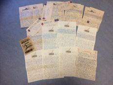 USA-period:1950/1951-19 letters/postal stationary-Korean war