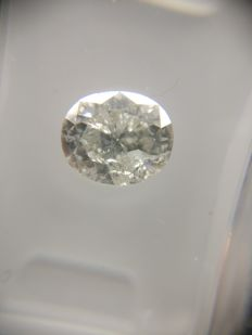 1.10 ct Oval cut diamond E SI3