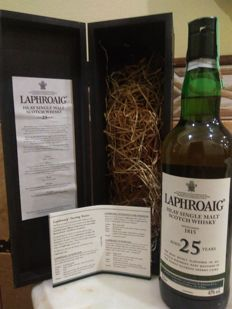 Laphroaig 25 years old - OB