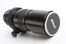 NIKON nikkor 4.5-300mm telephoto lens Ai
