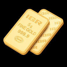5 Gr Sealed  Fine Gold Bar 24K, ***NO RESERVE PRICE***
