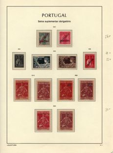 Portugal - Selection of service stamps and postage dues.