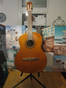 Beautiful, never played Salvador Cortez acoustic original Spanish guitar C-22
