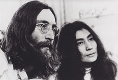 Unknown/Keystone/ Bob Gruen (1945-) - John Lennon and Yoko Ono, 1969/1972