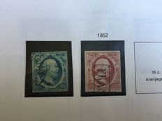 The Netherlands, 1852-2002 - collection in album and two stockbooks