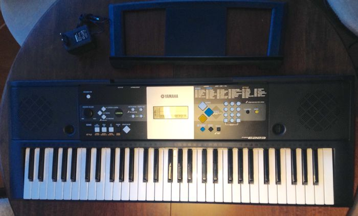 Yamaha psr e223 keyboard met 61 toetsen 375 sounds for Yamaha credit application