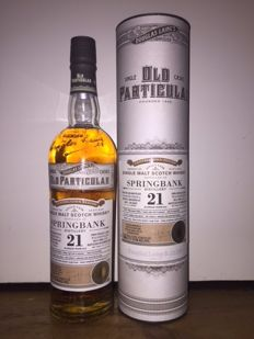 Springbank 21 years old Old Particular - 51.4%