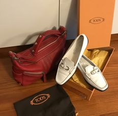 Mixed Tod's lot: shoes + bag