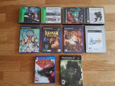 Lot of 10 top Playstation games ( PS1 - PS2 - PS4) like Shadow of the Colossus