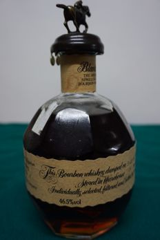 Blanton's single barrel bourbon whiskey. Dumped on 1999