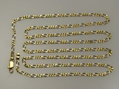 18 kt gold. Chain. Length: 60 cm No reserve price.