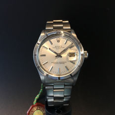 Men's Vintage Rolex Oyster Date with silver Dial, Ref. 1501