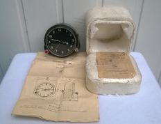 Aviation watches 122-ЧС №55005 pilot for the fighter MiG/ With passport and original box. 1985 year (СССР/USSR).
