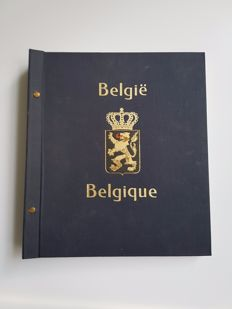 Belgium 1870/1992 - collection of surcharges, service, occupation and pre-stamped stamps