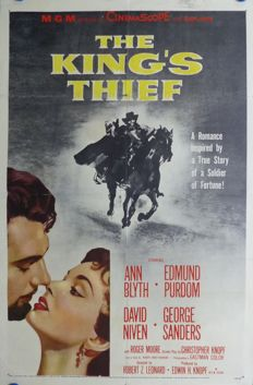 Anonymous - The King completo Thief (Ann Blyth, Edmund Purdom, David Niven) – year 1955