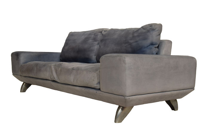 Design Bank Met Chaise Longue.Molinari Leather Lounge Sofa Catawiki