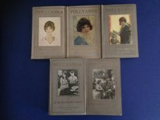 Eleanor H. Porter & Harriet Lummis Smith - Pollyanna - 5 volumes - 1928 / 1929
