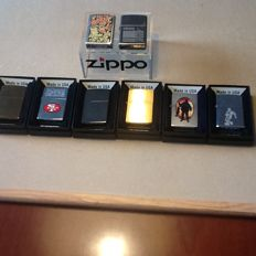 A new series of Zippo lighters.