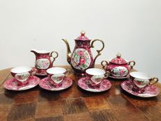 Porcelain tea set, hand painted