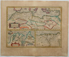North Africa; G. Mercator/Hondius - Barbaria - 1619