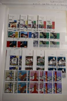 Switzerland 1960-2000 – Collection of blocks of stamps