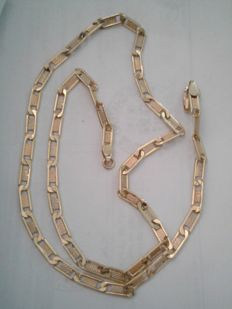 Necklace, 18 kt rose gold, 12 g.