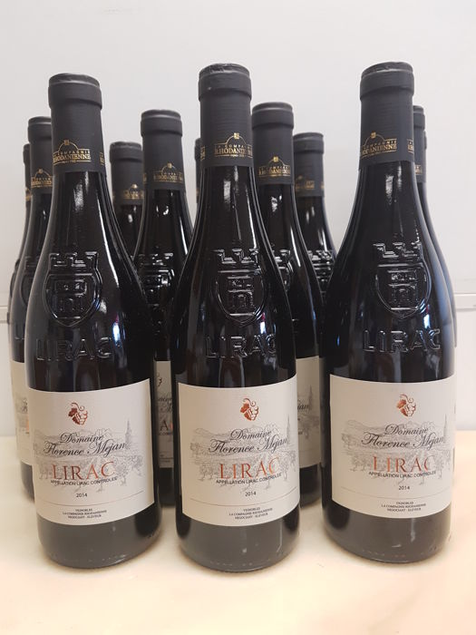 2014 - Lirac - Propriety of Florence Méjan - 12 bottles