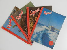 Signaal; Lot with 17 copies of Signal in Dutch - 1940/1944