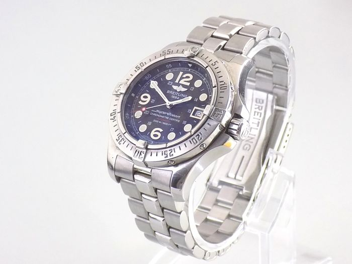 sports shoes 2fe1c 9139a Breitling – SuperOcean Steelfish 2000m Ref. A17390 – Men's watch - 2008 -  Catawiki