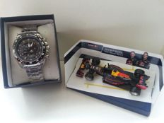 Casio Edifice EF-550RBSP-1AVDRF Red Bull Racing Limited Edition - Men's wristwatch + Red Bull Racing Auto