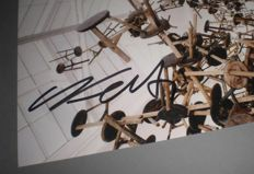 Ai Weiwei - Photo with original autograph